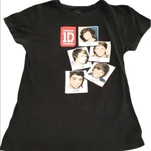 One Direction tee youth large younger